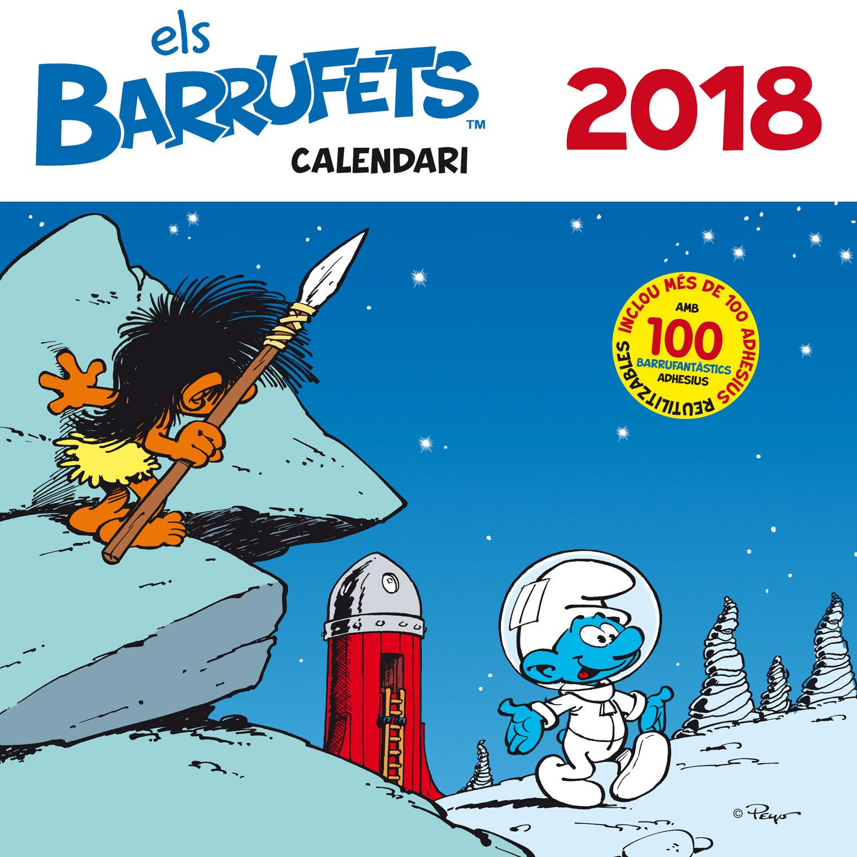 Calendari Barrufets 2018